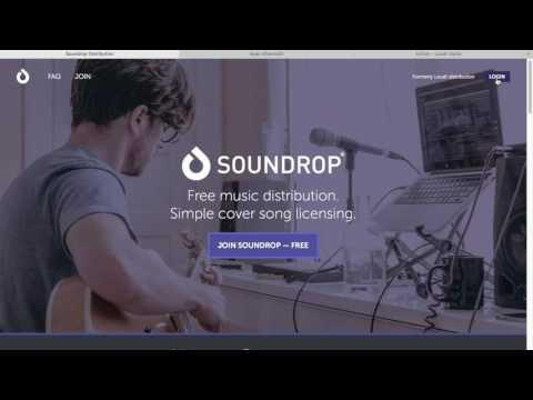 How To Put Your Music On iTunes For Free in 2018 (Soundr/Soundrop Music Distribution Service)