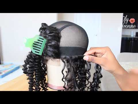 DETAILED WIG MAKING TUTORIAL (CURLY HAIR) | SUPERNOVA HAIR BRAZILIAN CURLY - IfyYvonne