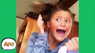 She Got A SISTERLY SCARE! 🤣 | Funniest Fails | AFV 2020