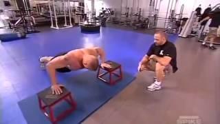 Brock Lesnar Work out