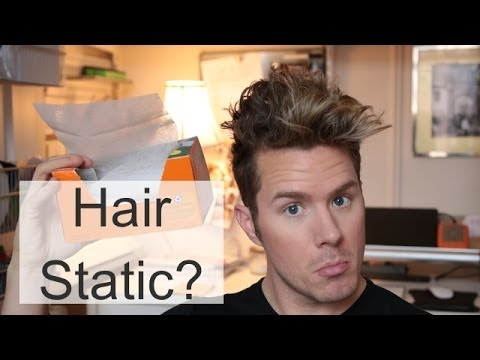 How To Reduce Static In Your Hair -Ask Theodore Thursdays