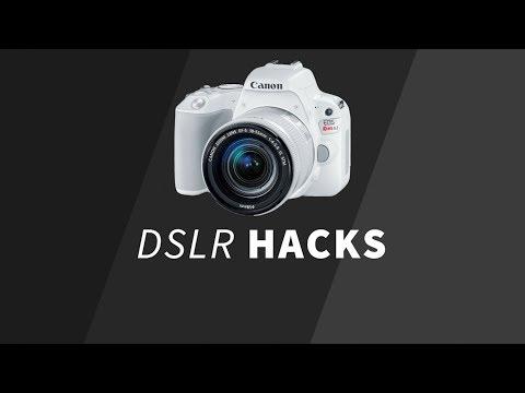 5 Smart DSLR Hacks !