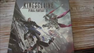 Kingsglaive Final Fantasy XV Blu-Ray Steelbook Unboxing (1080p)