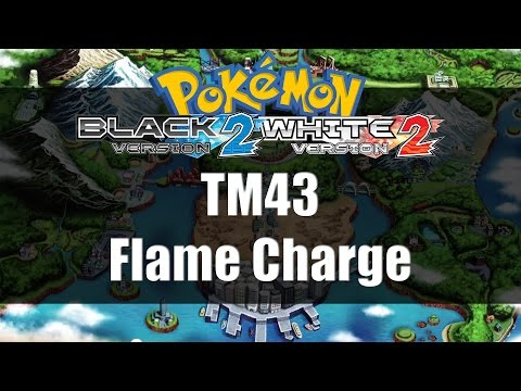 Pokemon Black 2 & White 2 | Where to get TM43 Flame Charge