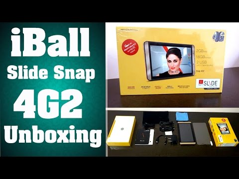 iBall Slide Snap 4G2 | Unboxing | Hands On! | YES TAMIL