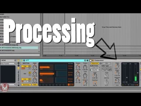 Making Melodic Dubstep - Processing tutorial ( 2016 )
