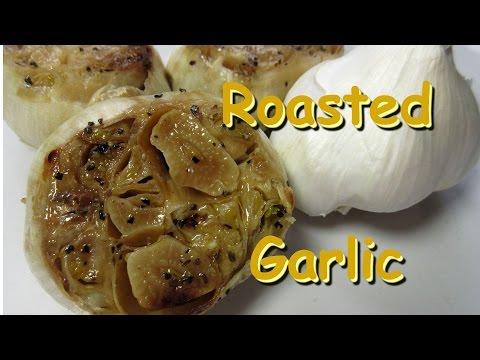 How to Roast Garlic Cloves ~ Roasting Garlic Bulbs Recipe