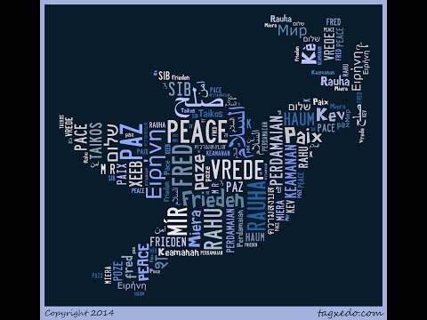 Make Any Shape with Words: Beautiful Tagxedo Word Cloud