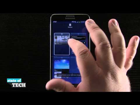 Samsung Galaxy Note 3 Tips - Change the Default Home Screen