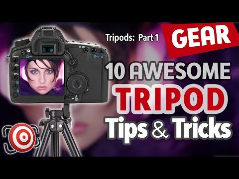 10 Tripod Tips and Tricks plus How to choose the best tripod for your photography