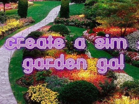 Create a Sim: Garden Gal (The Sims 3)