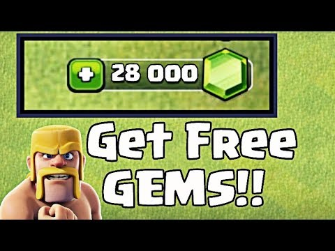 How To Get 28,000 GEMS Without Spending Money - Clash of Clans