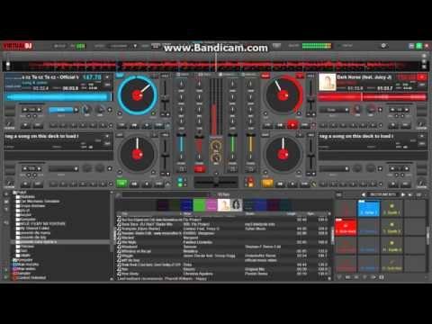 virtual dj 8 prezętazja--dedykacja dla Zuzi