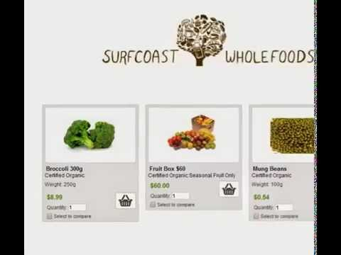 Online Healthy Organic Food Store Australia Victoria