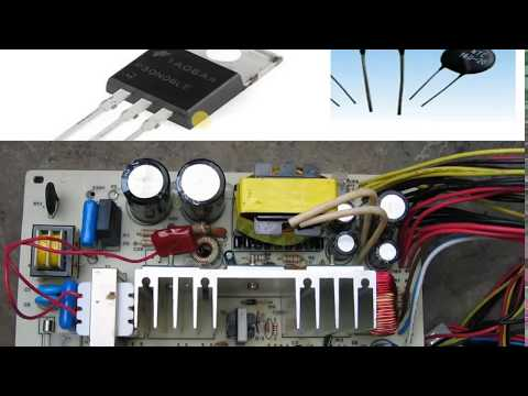 cpu power supply  Repair in Hindi, How To Check & Repair SMPS