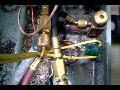 Refrigerant Leak Repair - High Pressure Switch