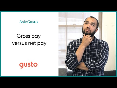 Gross Pay vs. Net Pay: What's the Difference?