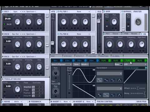 Massive Tutorial: Huge Rising/Build Synth Tutorial