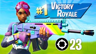 How to Level Up FAST! Winning in Solos! (Fortnite Battle Royale)
