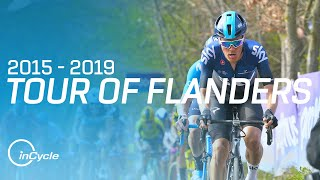 The Best of The Tour of Flanders from 2015 to 2019 | inCycle