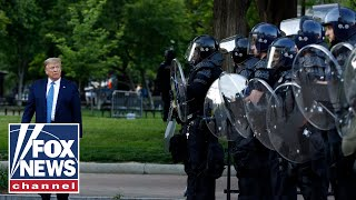 Tear gas was not used to clear protesters for Trump: US Park Police
