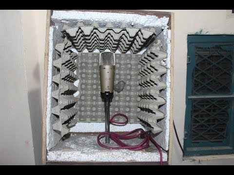 How to Make Soundproof Box For Home Recording Studio in Hindi