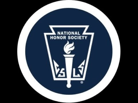 National Honor Society Induction Ceremony - 2018
