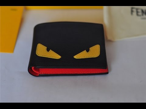FENDI Eyes Monster Bifold Wallet Unboxing | SOLD OUT WORLDWIDE