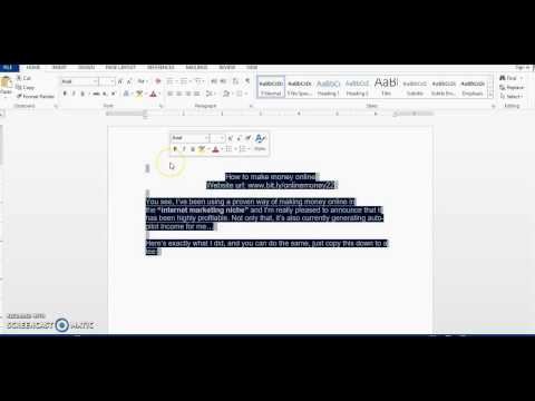 How to remove highlights or background color from pasted text in Microsoft Word