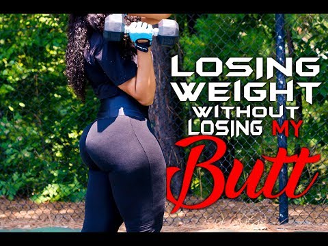 LOSING WEIGHT WITHOUT LOSING MY BOOTY | CHINACANDYCOUTURE FITNESS