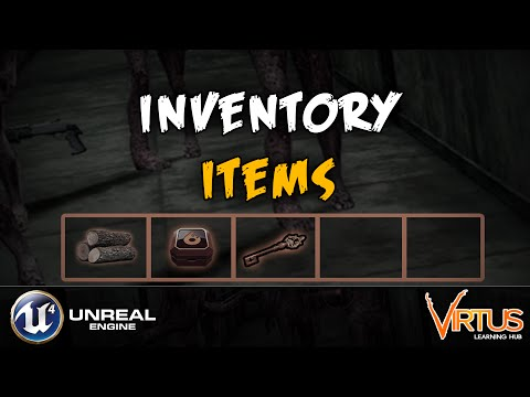 Creating Inventory Items - #14 Creating A Survival Horror (Unreal Engine 4)