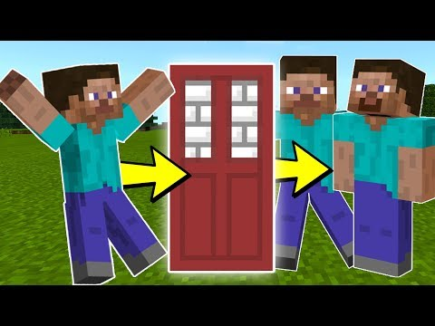 How to CLONE STEVE in Minecraft Pocket Edition