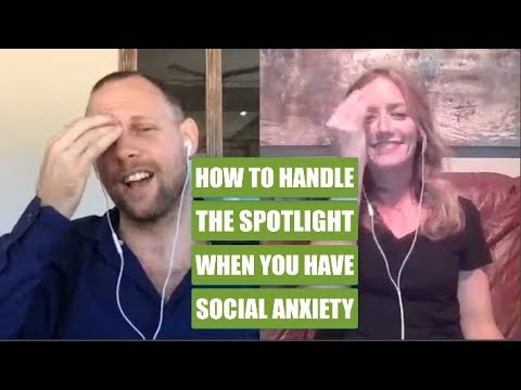 Live EFT coaching session to overcome social anxiety