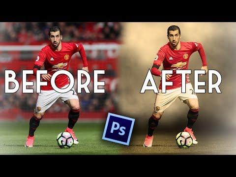 Photoshop Smoke edit tutorial - Planet Football Artwork