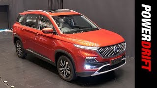 MG Hector : SUV from the Future : PowerDrift