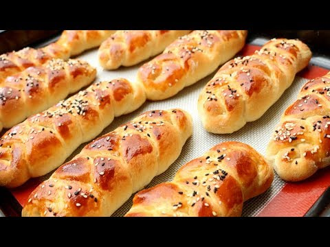 How to Make Super Soft and Moist Chinese Bakery Buns / Milk Bread 湯種北海道牛奶麵包