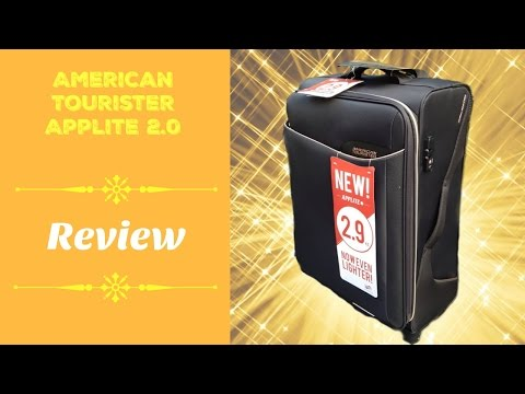 Suitcase Talk - American Tourister Applite 2.0 Review