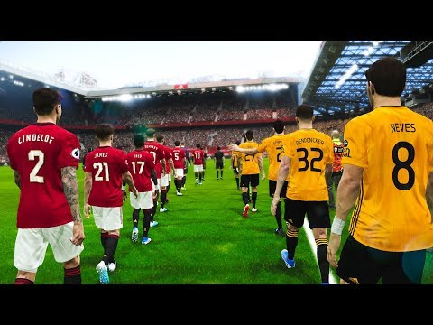 Manchester United vs Wolves 1-0 FA CUP 2020 Gameplay