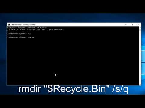 How To Repair Corrupted Recycling Bin In Windows 10/8/7