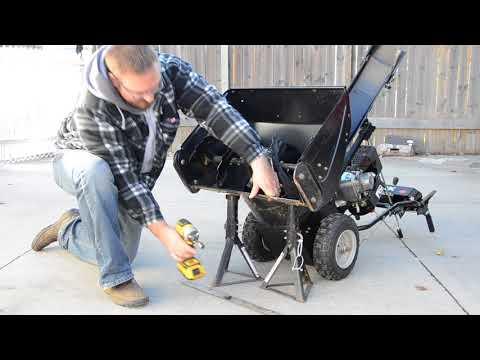 011 - Ariens Sno-Tek 24 Snowblower – Scraper Blade Replacement & Skid Shoe Adjustment