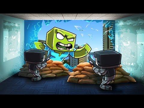Minecraft   ULTIMATE ZOMBIE BASE CHALLENGE - Zombie Apocalypse Fort! (GIANT ZOMBIE)