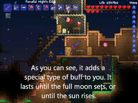 How to Become a Werewolf in TERRARIA!