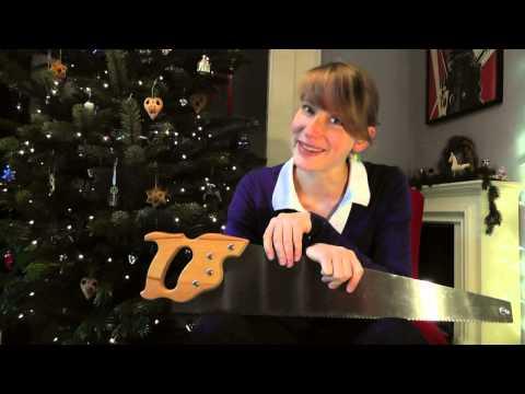 The Singing Saw Christmas present