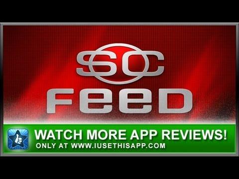 ESPN Sportscenter Feed iPhone App - Best iPhone App