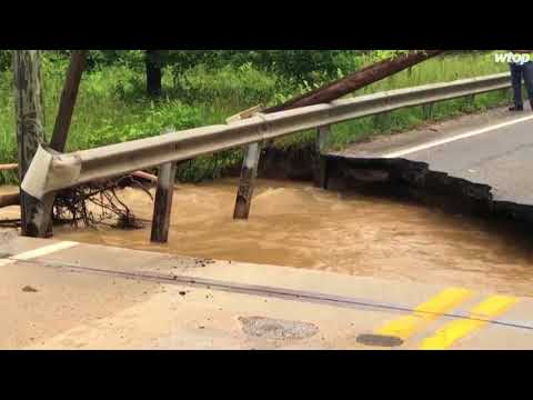 Flooding shuts down Maryland road
