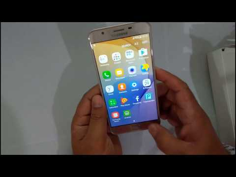 SAMSUNG GALAXY ON7 PRIME UNBOXING