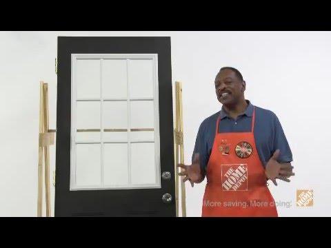 Masonite Door Glass Installation
