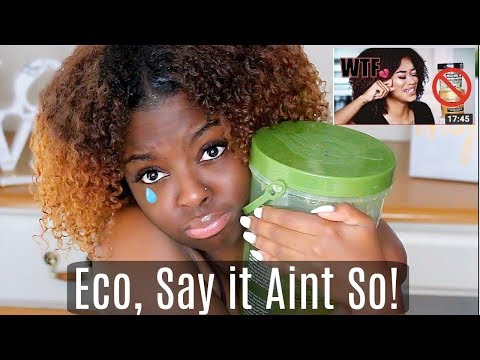 Are You Canceling Eco styler gel TOO? | Say it Aint So