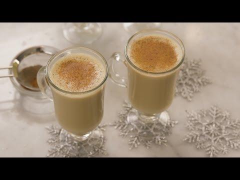 Warm Up With an Egg Nog Latte!
