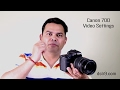 Video Settings for Canon 70D (Hindi)